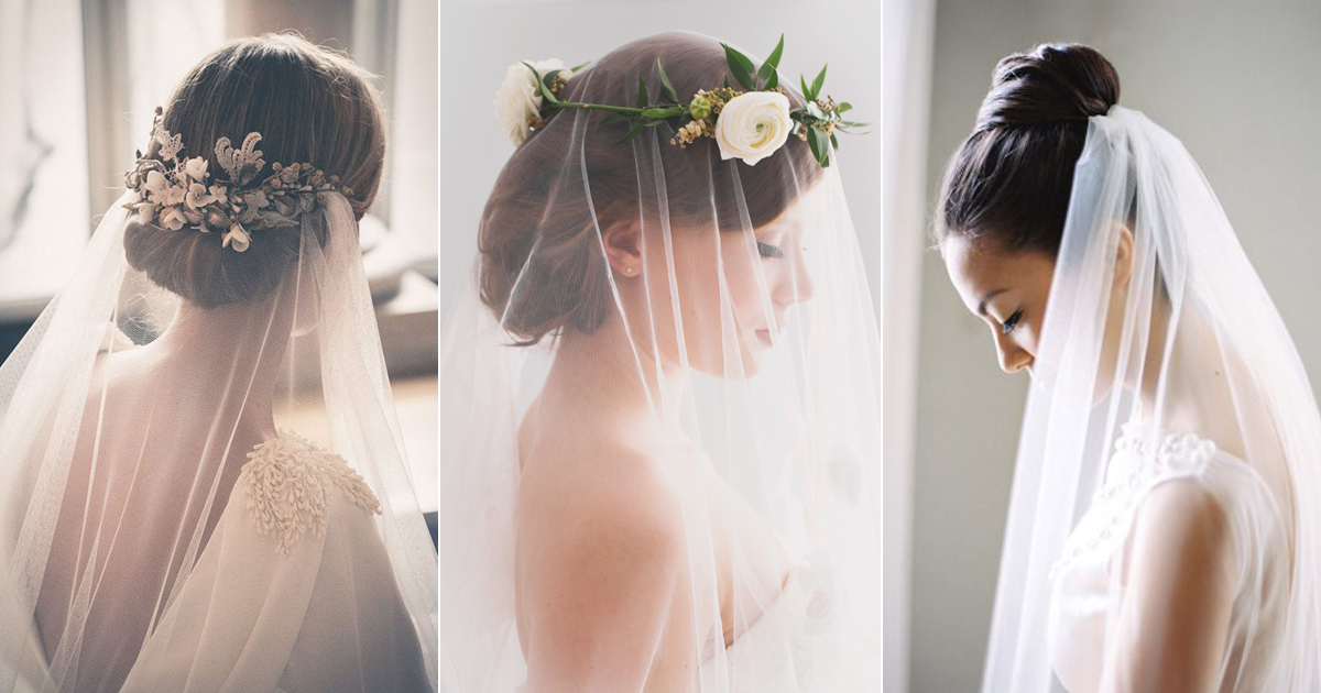 5 Chic Bridal Hairstyles That Look Good With Veils Praise Wedding