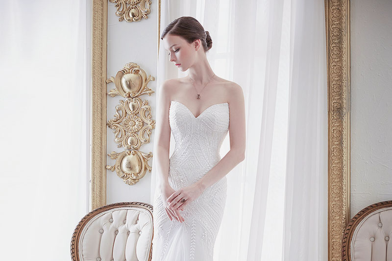 16 Beautiful Wedding Dresses For 2016 From Vintage To: 16 Timelessly Beautiful Sweetheart Wedding Gowns!