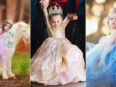 A Little Girl's Dream Comes True! 24 Adorable Princess-worthy Flower Girl Dresses!