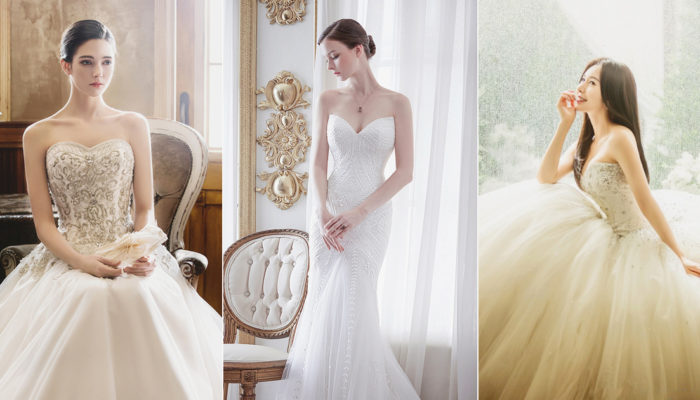 16 Timelessly Beautiful Sweetheart Wedding Gowns!