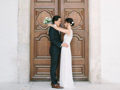 This Elegant Destination French Wedding Is Your Little Virtual Escape!