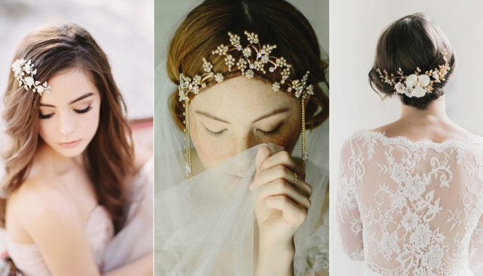 25 Chic and Romantic Handmade Hair Accessories For Winter Brides!