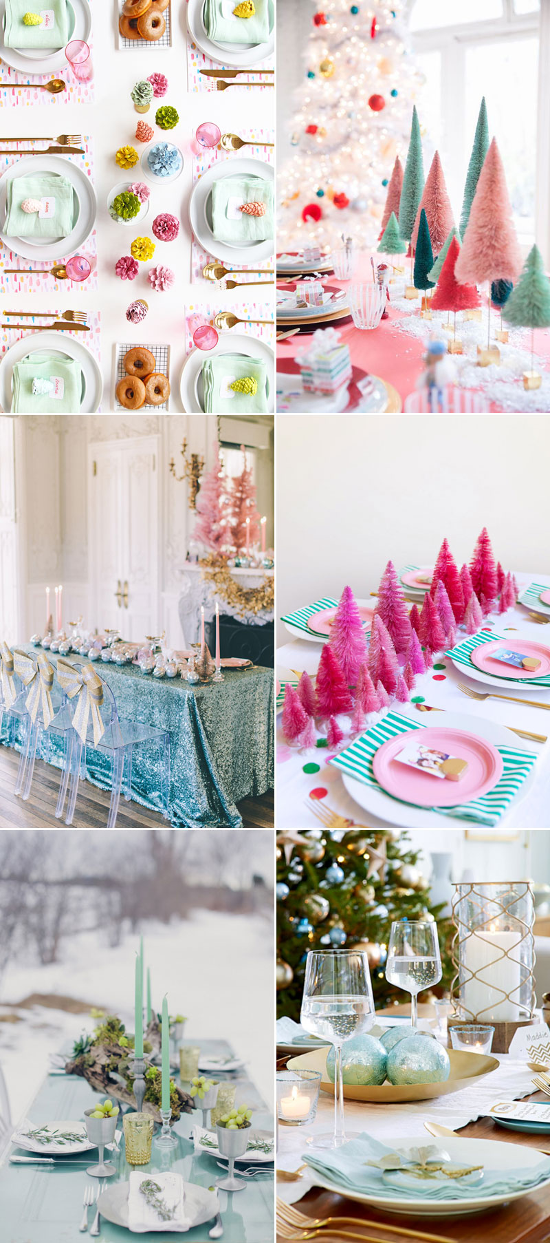32 Beautiful Christmas Table Decoration & Placesetting Ideas ...