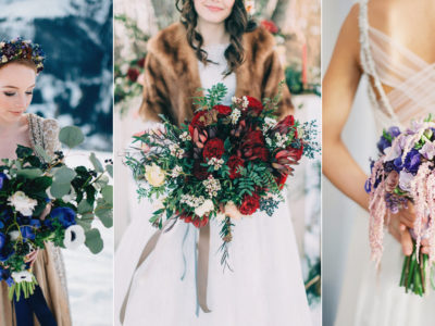28 Absolutely Beautiful Winter Wedding Bouquets!