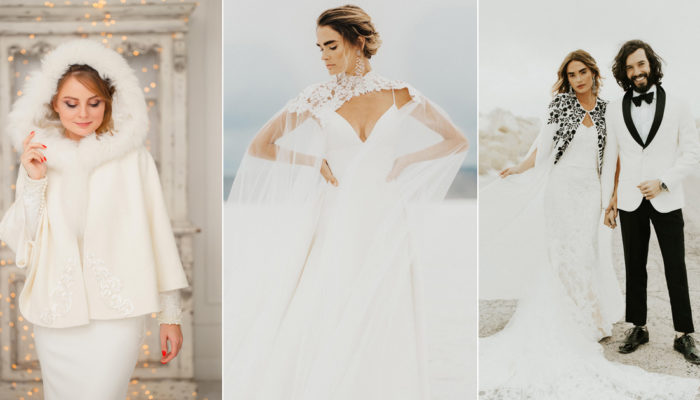 22 Fashion-Forward Cozy Cover Ups! Brides No Longer Have To Sacrifice Style for Warmth!