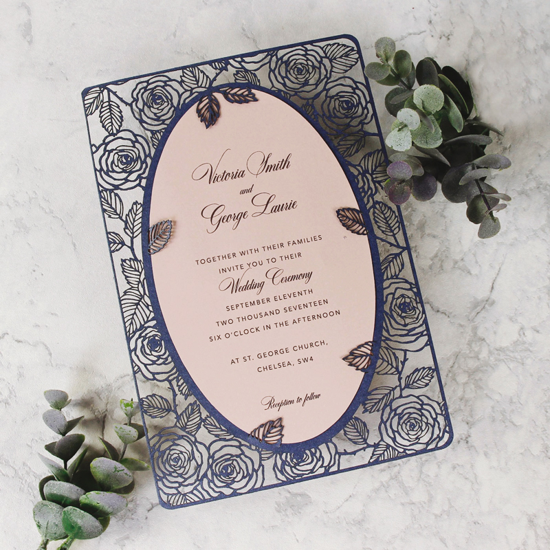 15 Beautiful Laser Cut 3D Wedding Invitations To Impress Your ...