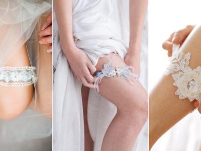 31 Utterly Romantic Wedding Garters You'll Love!