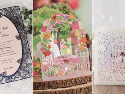 15 Beautiful Laser Cut 3D Wedding Invitations To Impress Your Guests!