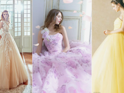 Unexpected Hues! 30 Whimsical Colored Wedding Dresses For Fairytale Brides!