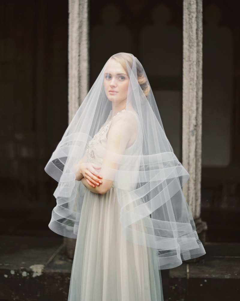01-double-horsehair-ribbon-veil