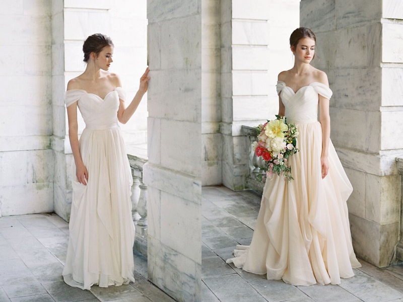 Build Your Very Own Wedding Dress! 17 Stylish Chic Bridal ...