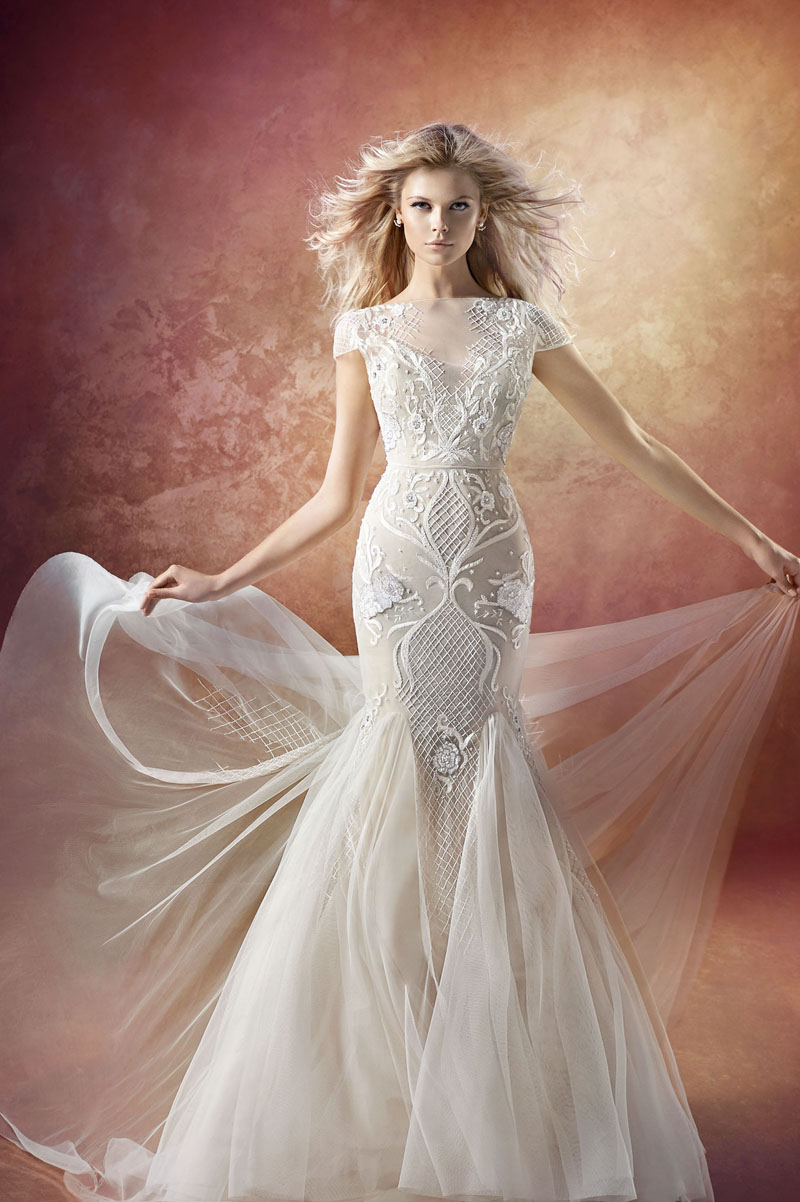 20 Sexy but Classy Wedding Dresses That Will Take His Breath Away