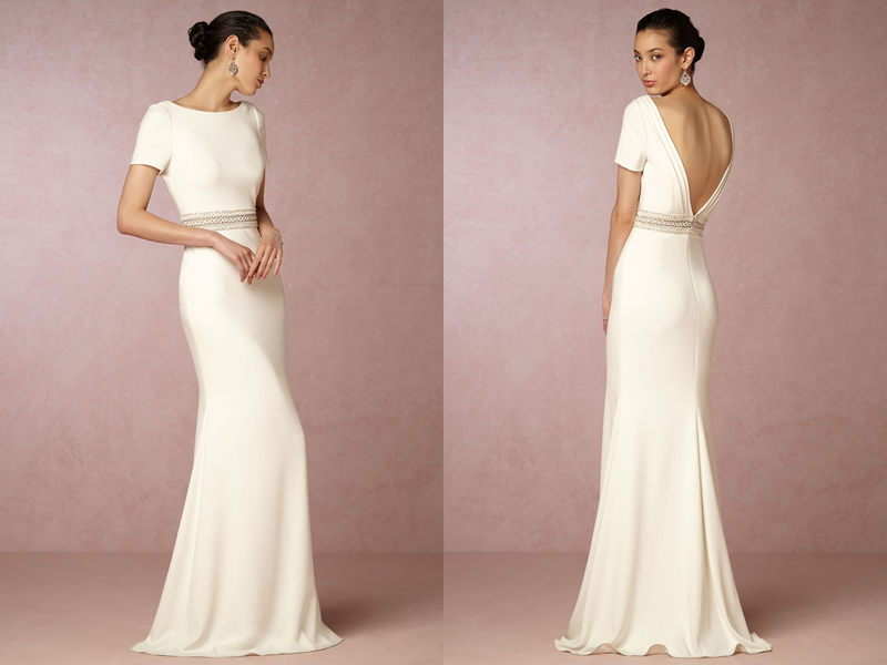Simple Wedding Dresses: 20 Simple Yet Beautiful Wedding Dresses For Modern Brides