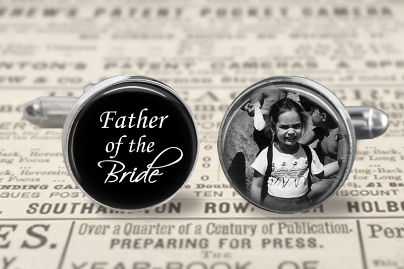 09-Father Of The Bride Cufflinks