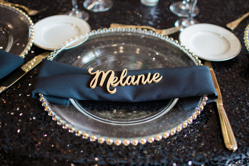 21-Personalized Wood Place Card