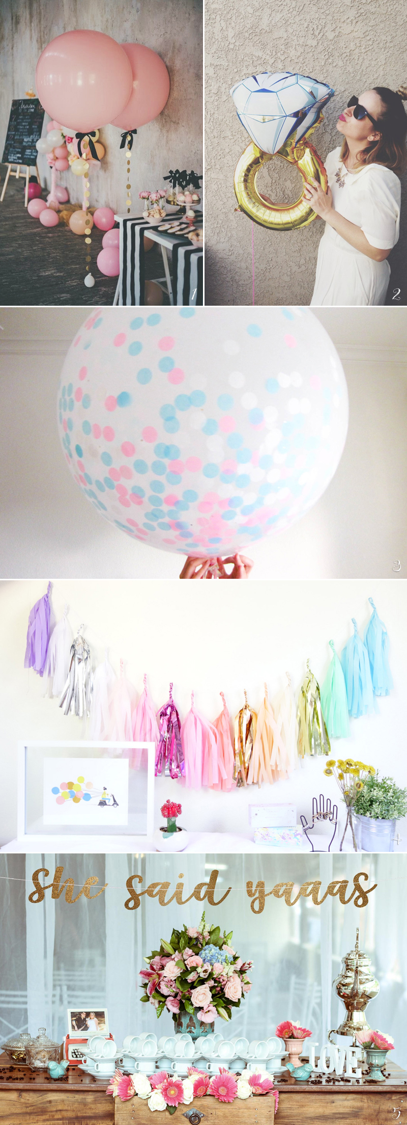 Sweet Gift For Her: 30 Creative Things You Need To Throw An Awesome Bridal