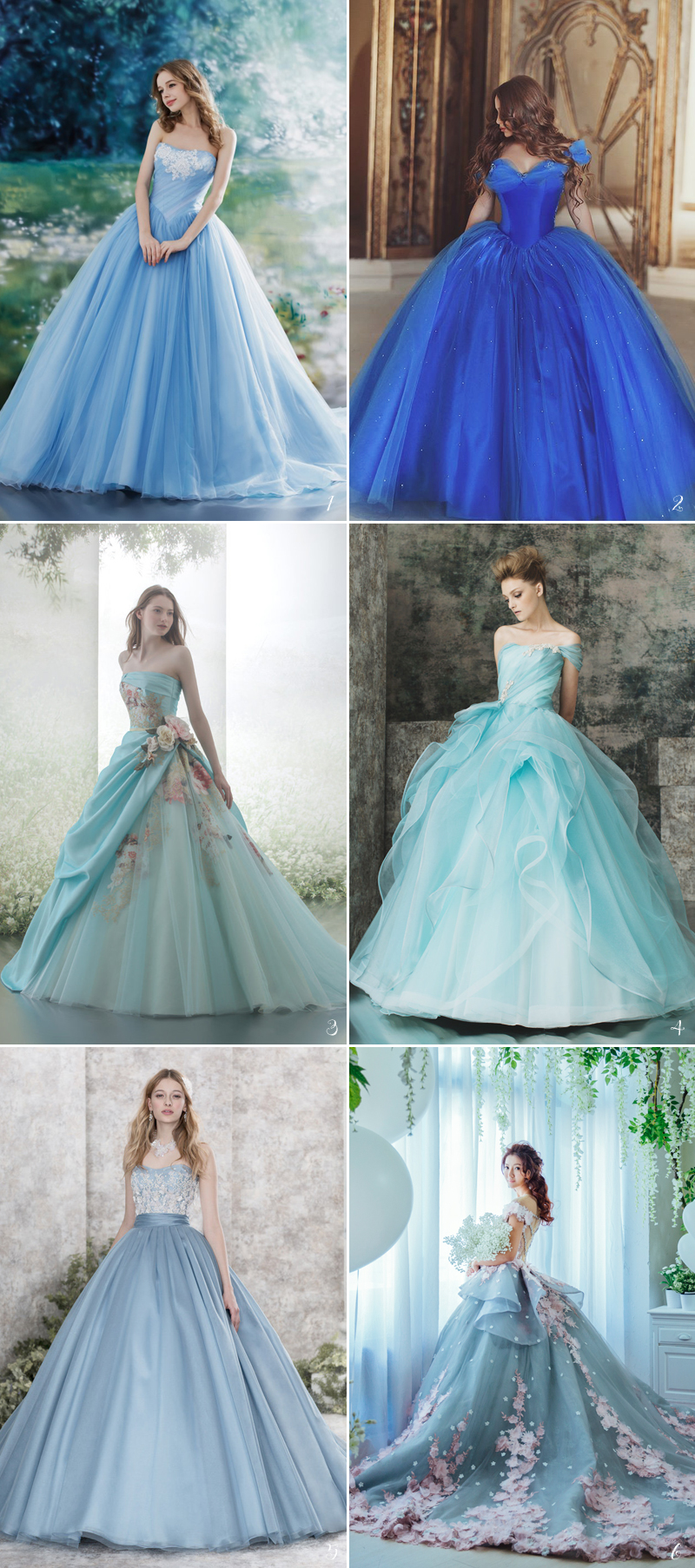 Cinderella Wedding Dresses 2017 : Fairy tale wedding dresses for the disney princess