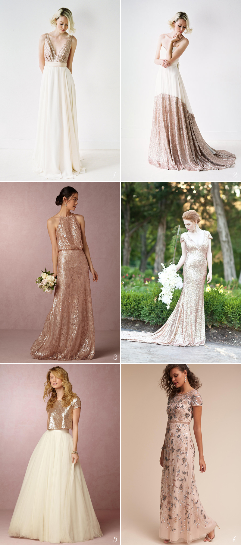 26 Stunning Rose Gold Bridal Apparel Ideas Praise Wedding