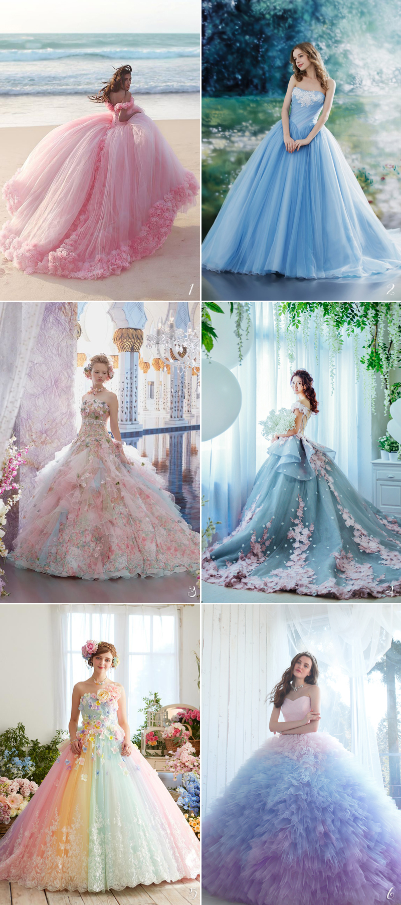 24 princess worthy bridal ball gowns you 39 ll love praise for Fairytale inspired wedding dresses