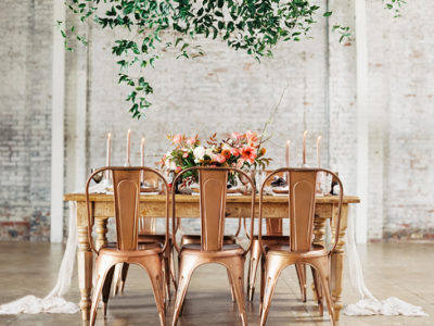 40 Industrial Chic Wedding Ideas For Modern Stylish Couples!