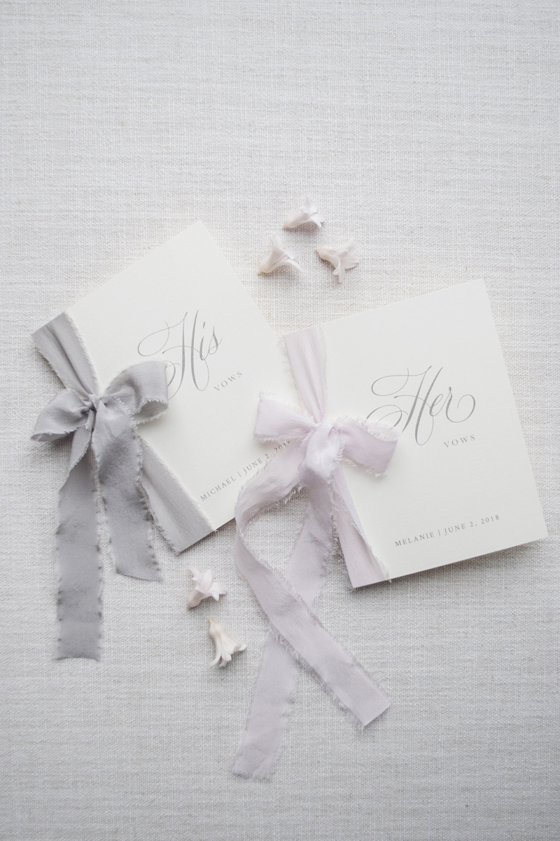 03-Silk RIbbon Linen Vow Books