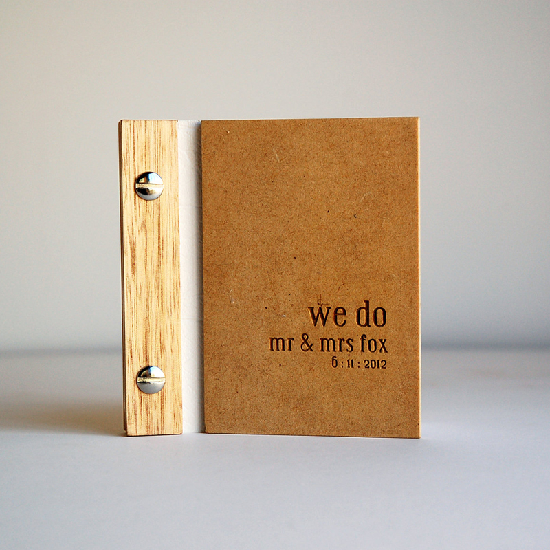 12-We Do Wedding Vow Book
