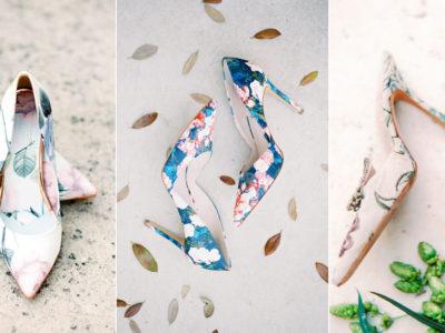 Wedding Shoe Trend: Floral Print! 15+ Floral Wedding Shoes We Love!