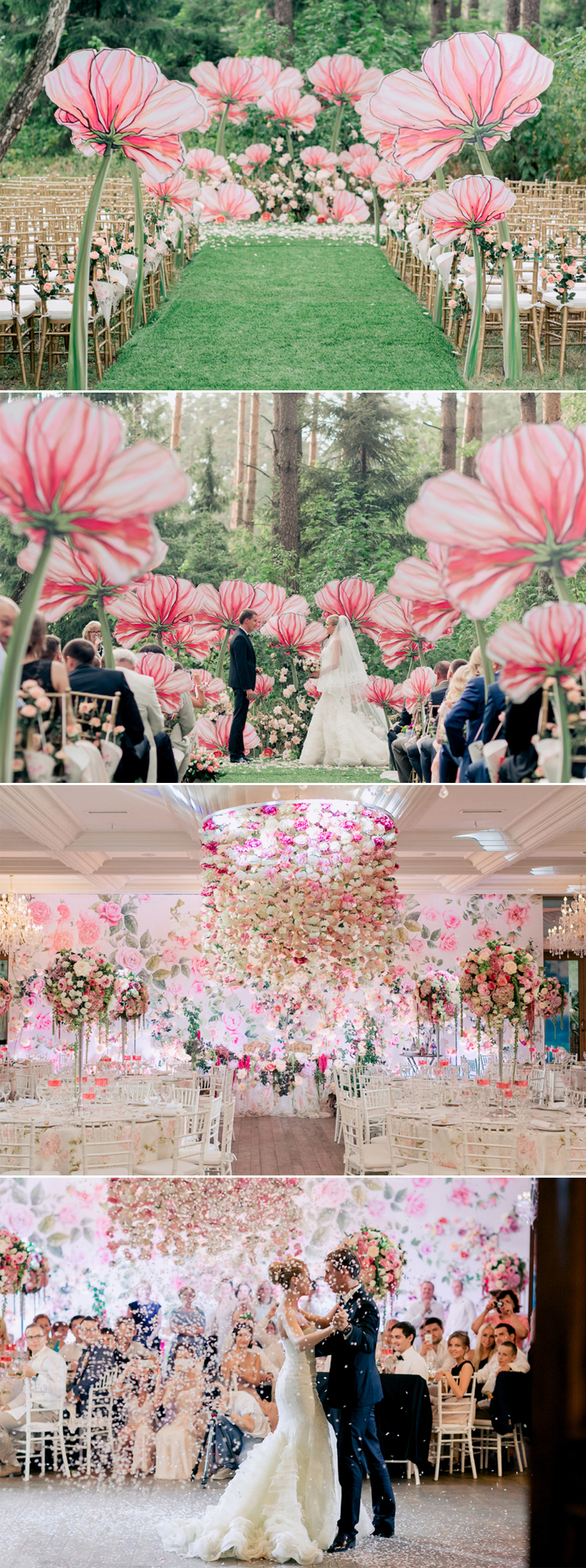Floral Decor: 7 Incredibly Magical Themes For Spring Fairytale Weddings
