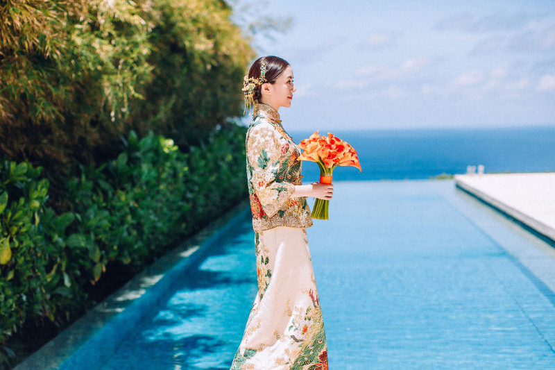 30 Jaw-Droppingly Beautiful Traditional Asian Bridal Gowns With A ...
