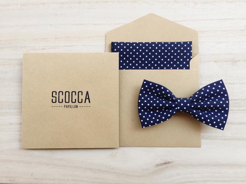 01-Bow Tie + Handkerchief Set
