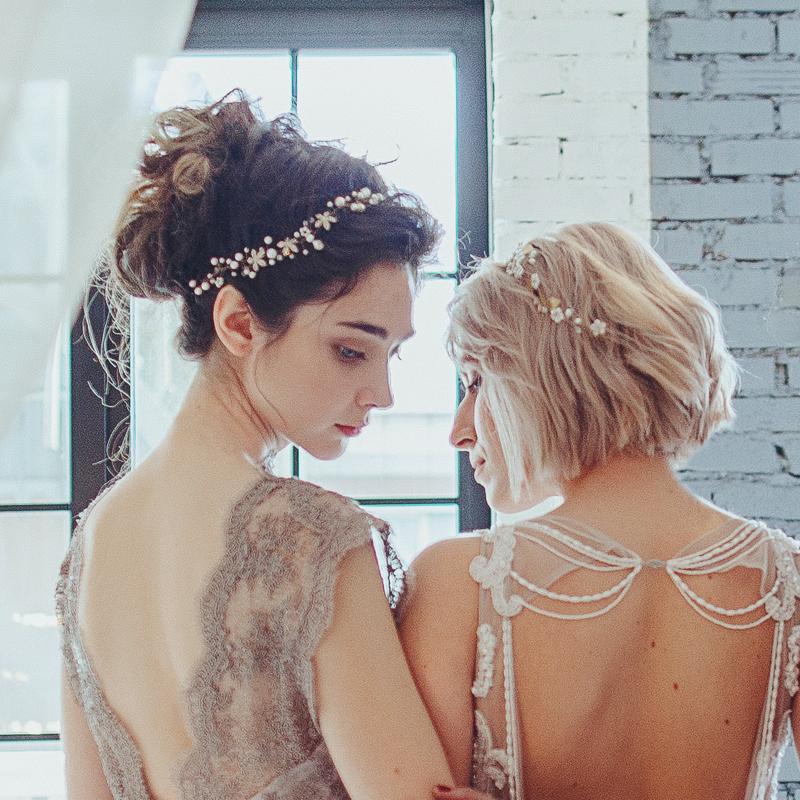 01-Bridal Pearl Headpiece