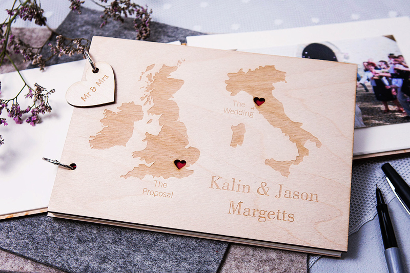 01-Personalised Duo Destination Wedding Guest Book