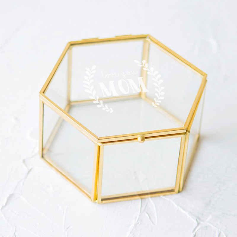 02-Modern Glass Jewelry Box