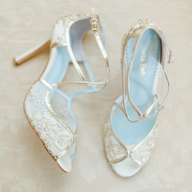 Say Yes To Lace 18 Timelessly Romantic Lace Wedding Shoes
