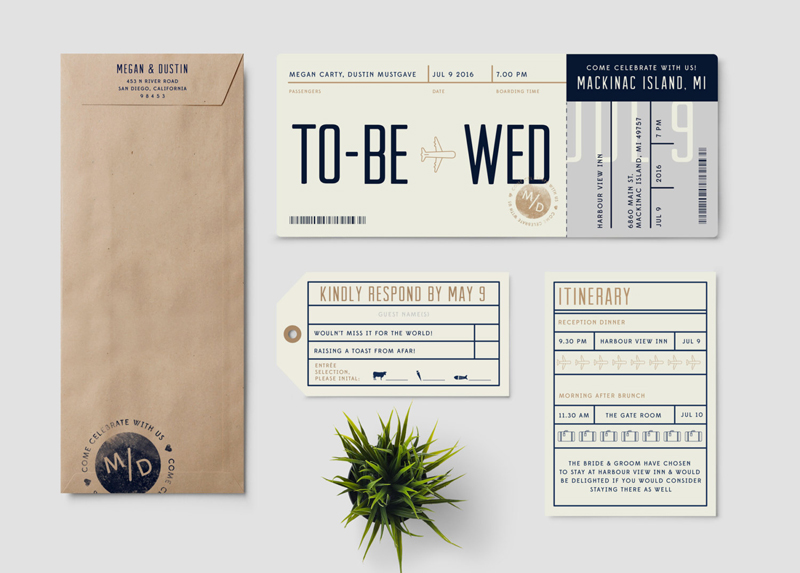 03-Boarding Pass destination wedding invitation suite