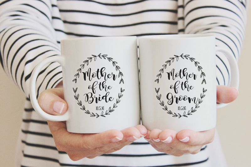 06-Mother of the Bride & Groom Mugs