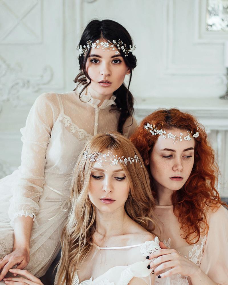 10-Crystal Wedding Wreath