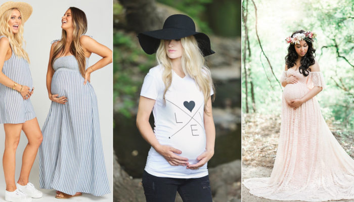 28 Beautiful Ways to Dress Your Baby Bump! Stylish Chic Maternity Clothes!