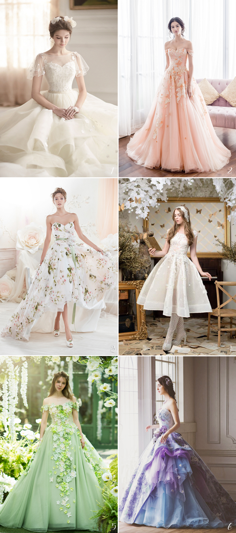 30 Perfect Gowns For Every Type of Outdoor Wedding This Summer ...