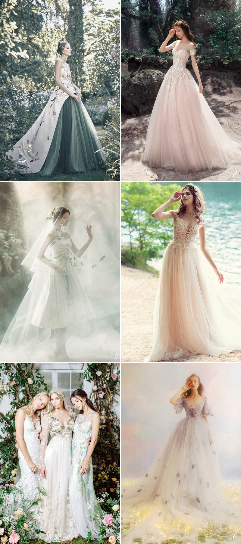 30 perfect gowns for every type of outdoor wedding this for Wedding dresses for outside