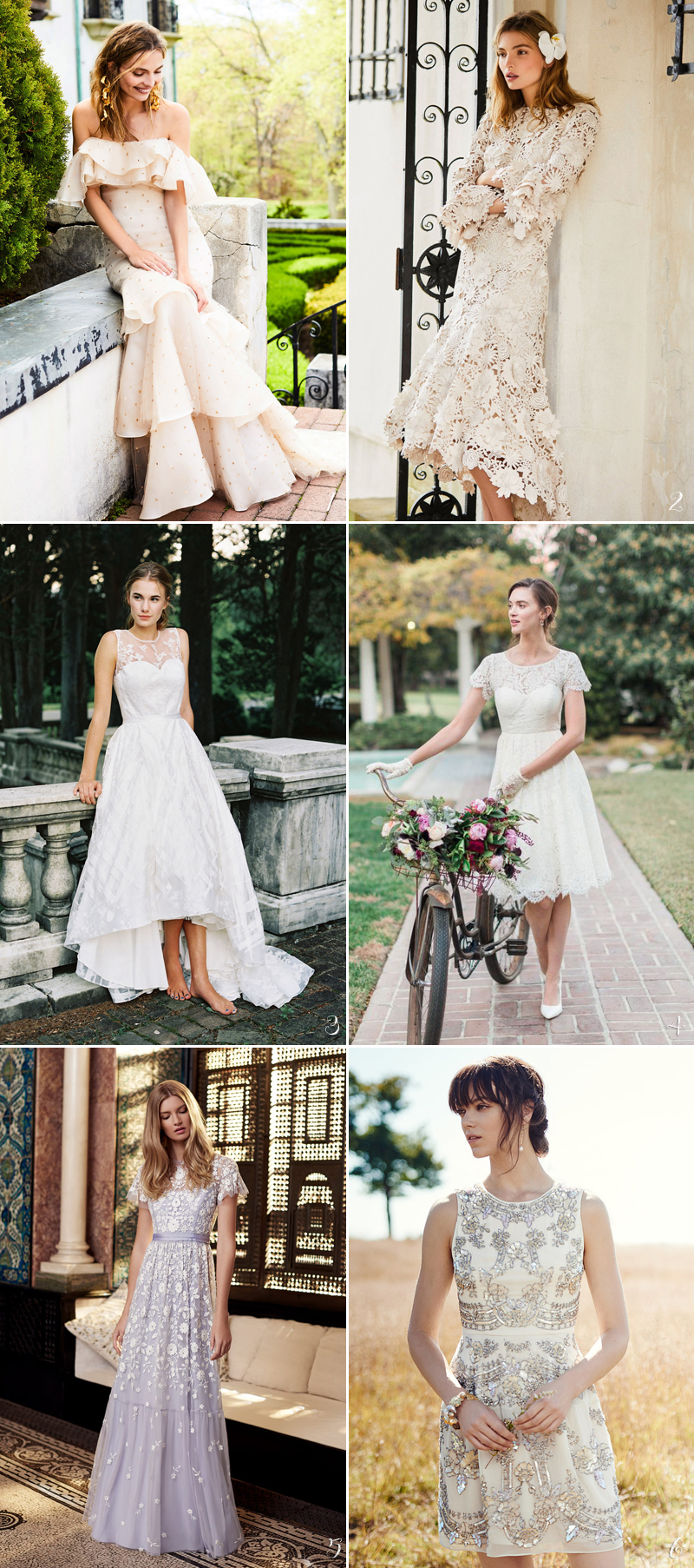 30 perfect gowns for every type of outdoor wedding this summer
