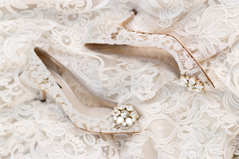 3eb378b30522 Say Yes To Lace! 18 Timelessly Romantic Lace Wedding Shoes! - Praise Wedding