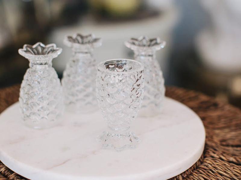 18-Pineapple Shot Glasses