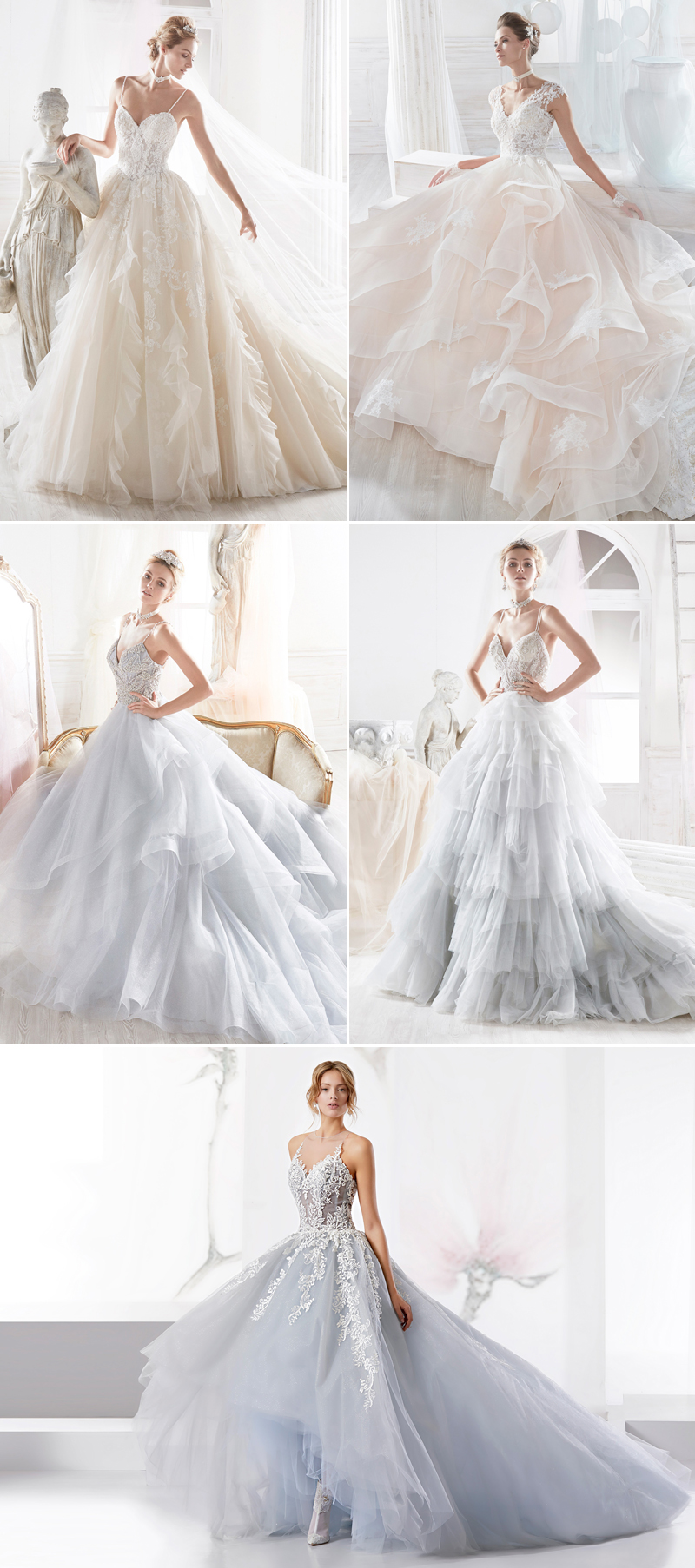 37 Jaw Droppingly Beautiful Gowns For A Ballroom Wedding