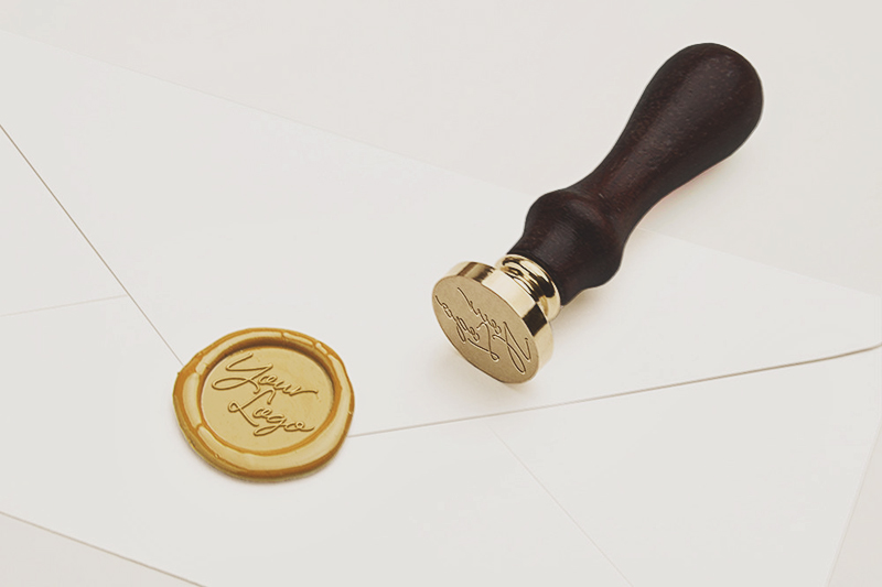 01-Custom Logo Wax Seal Stamp