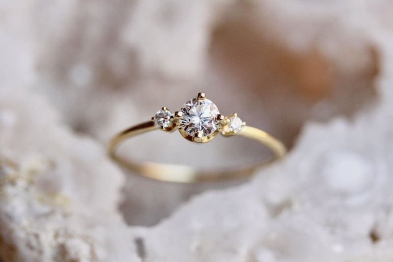 20 Of The Most Beautiful Unconventional Engagement Rings