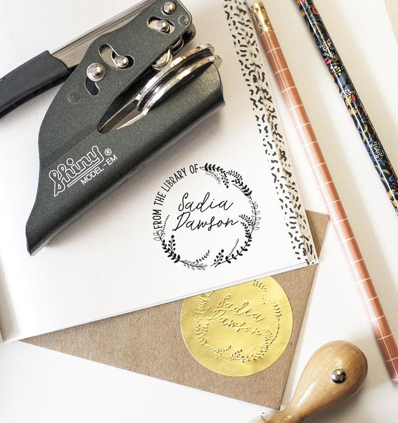 02-Custom Book Embosser