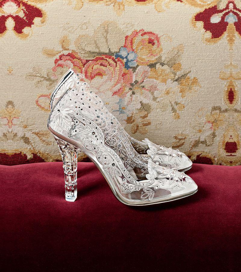 02-Dolce & Gabbana Glass Slipper Pump