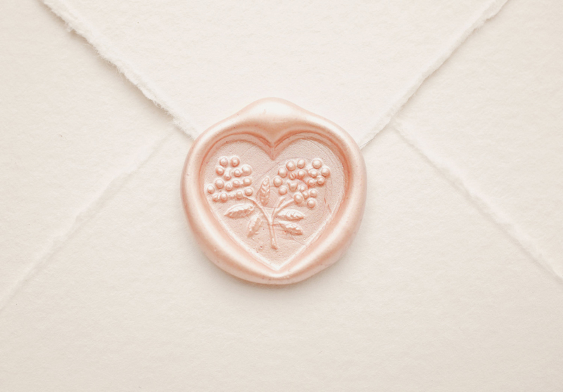 04-Romantic Heart Wax Seal