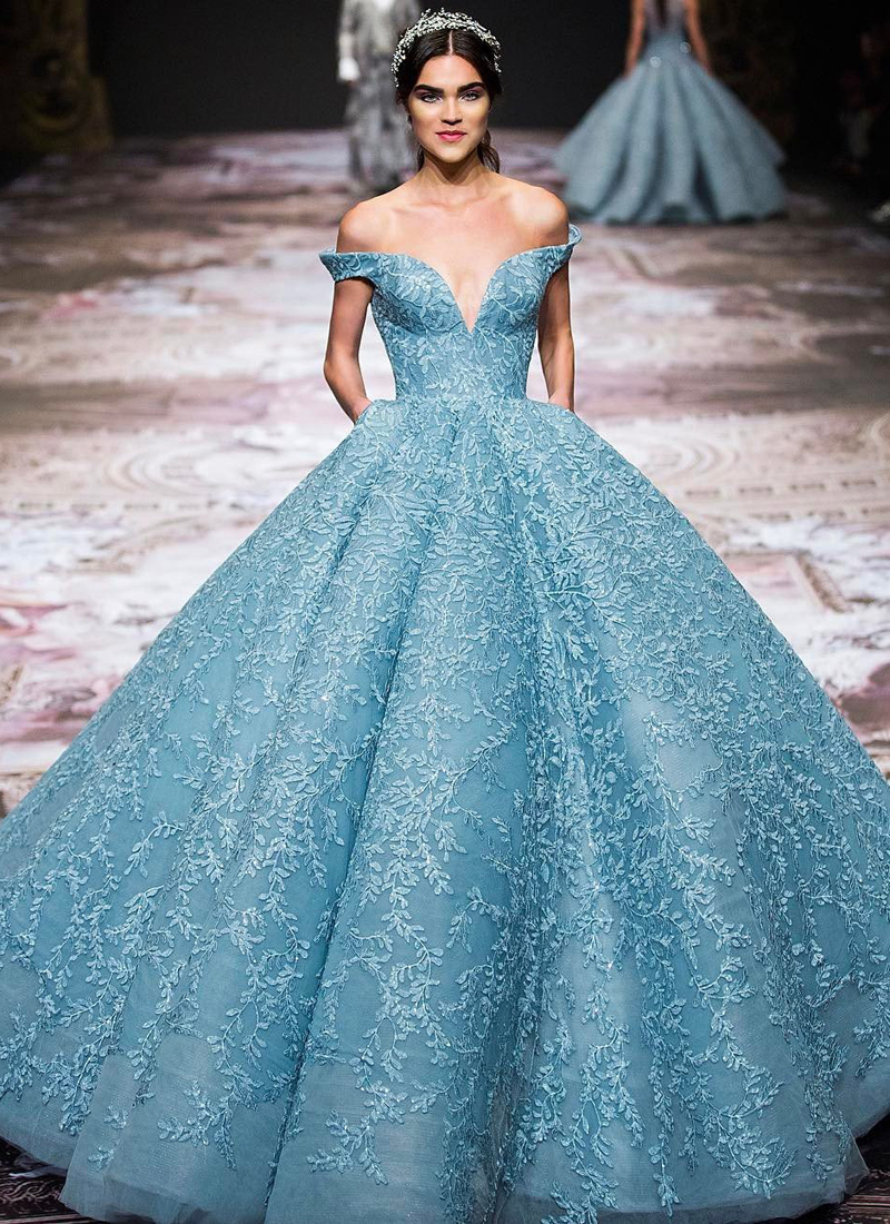 15 Magnificent Statement Ball Gowns For Fashion Conscious Brides ...